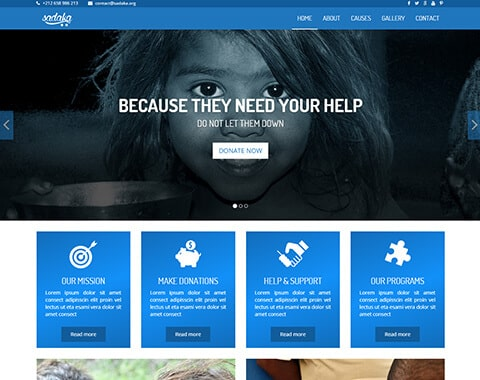 Sadaka - Charity HTML5 Theme